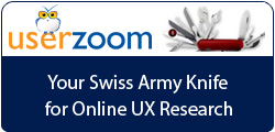 Userzoom: Unmoderated Usability Testing, Tools and Analysis